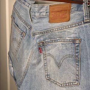 Levi's Shorts - Levi's Urban Renewal Distressed Denim Short